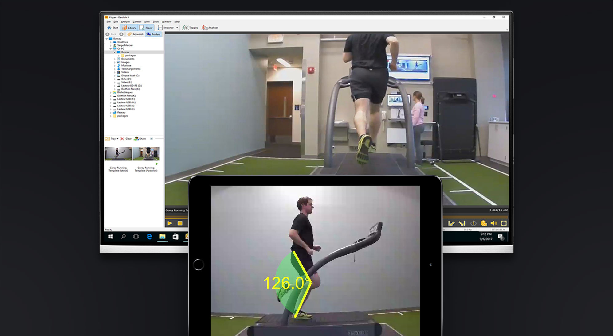 Motion Analysis for Physical Therapy