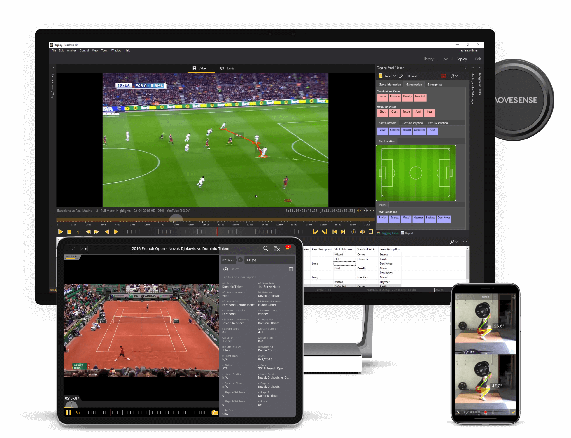 dartfish video analysis