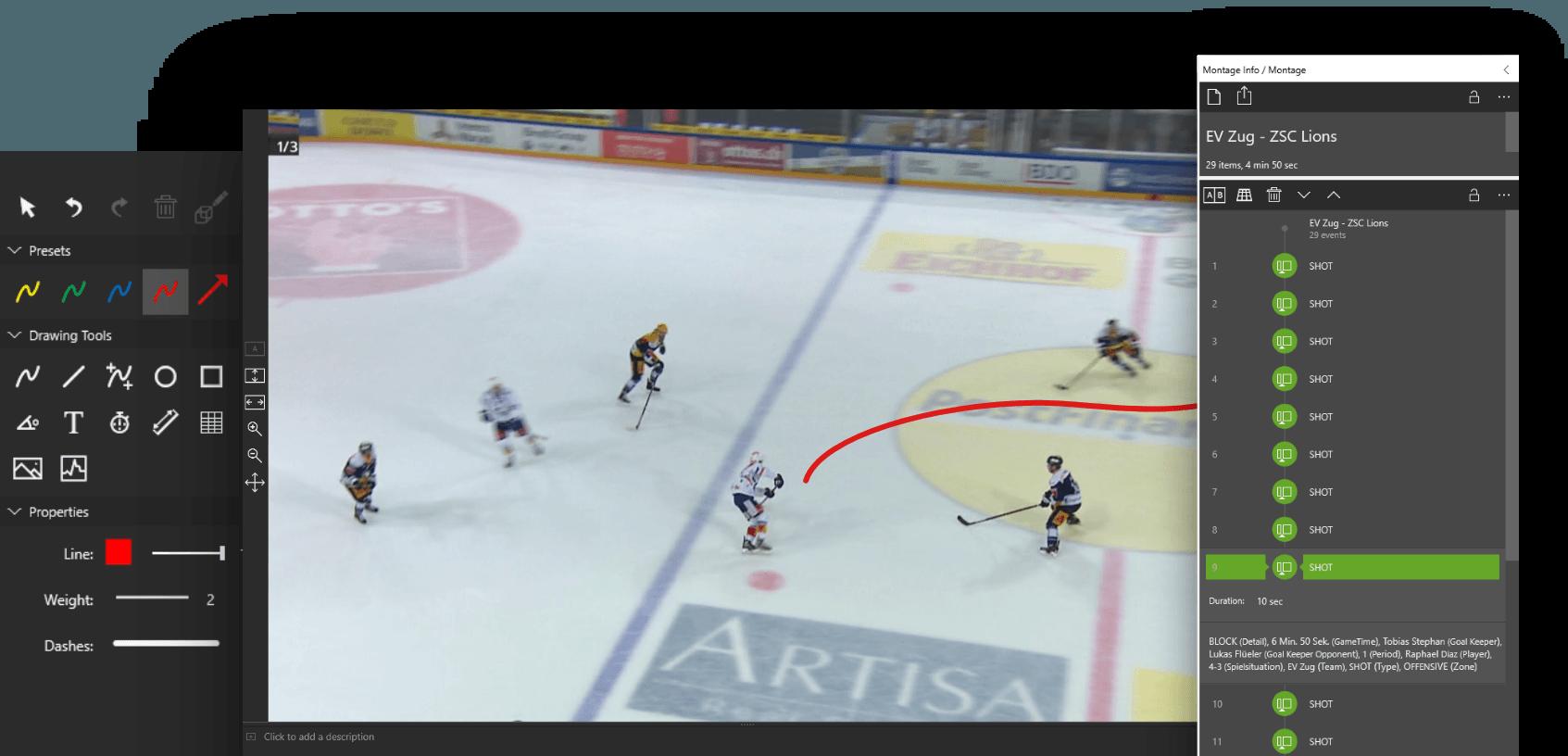 Dartfish - Ice Hockey Teams Worldwide Trust & Use Dartfish