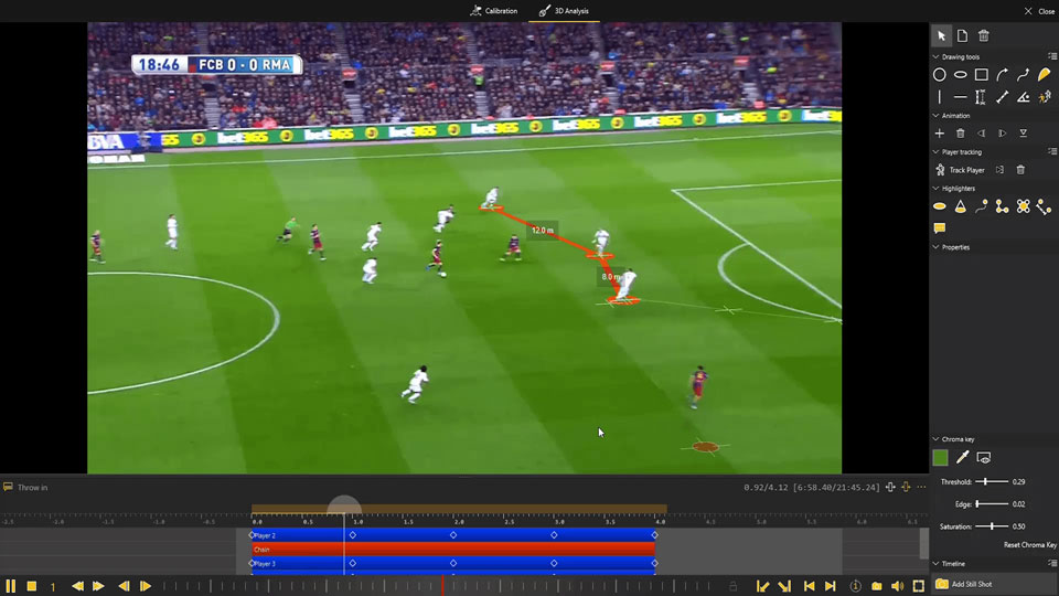 Dartfish - A 3D graphic rendering solution for Sports Video